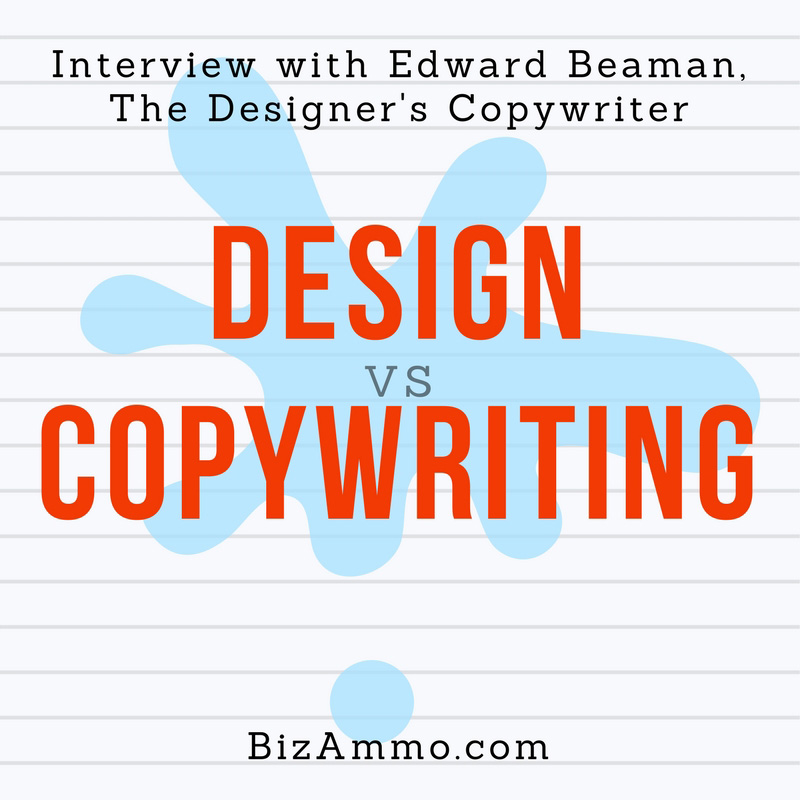 Web Design vs Copywriting - Interview with Edward Beaman